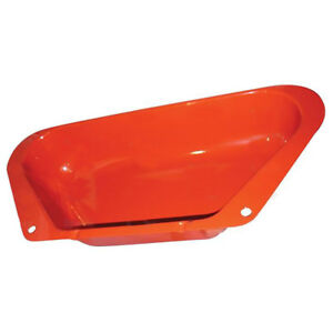 180737m1 New Massey Ferguson Tractor In Fender Style Metal Tool Box To35 Mh50