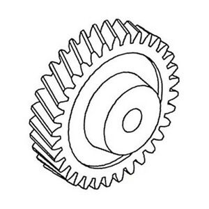 T20298 Oil Pump Drive Gear For John Deere 1020 1520 1530 2020 2030 2040