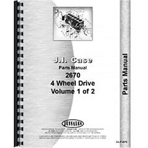 New Case 2670 Tractor Parts Manual
