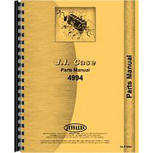 New Case 4494 Tractor Parts Manual