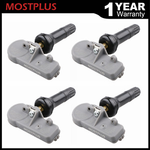 4pcs Tpms Tire Pressure Monitoring System Sensor For Gmc Chevy Buick 13581558