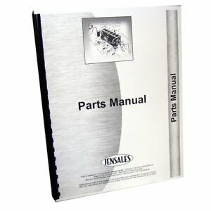 Parts Manual For International Harvester Engine Grd 175 15a