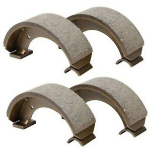 Sba328100021 Set Of Four 4 Brake Shoes For Ford Tractors 1300 1310 1500 1510