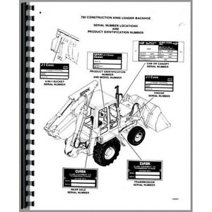 New Case 780 Tractor Parts Manual