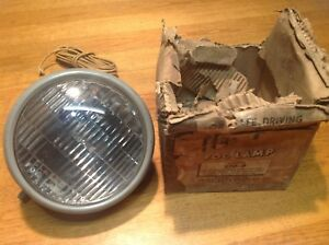 Look Guide 2009 A Fog Vintage Lamp Auxiliary Light Nib 6 Volt Early Truck Auto
