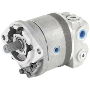 70257005 Hydraulic Pump Dual Stage For Allis Chalmers 190 190xt 200 Tractor