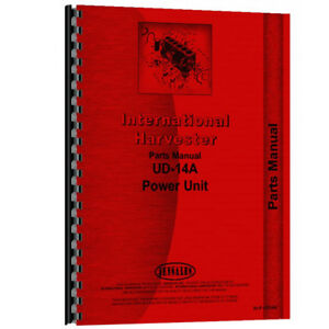 New Diesel Engine Parts Manual For The Austin Western Model 99l