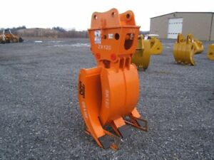 Hitachi Farm Excavator Hydraulic Clam Shell Grapple