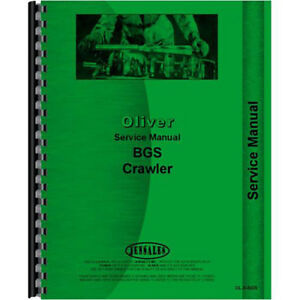 New Oliver Bgs Crawler Service Manual