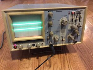 B k Precision 40 Mhz Analog Dual Trace Electronic Oscilloscope 1541a
