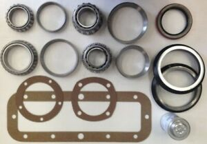 Final Drive Bearing Seal Gasket Kit For Case 450c Dozer