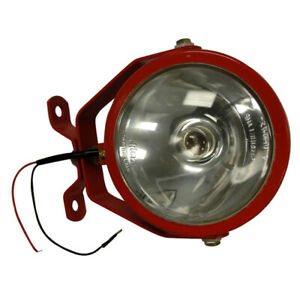 Two Wire Red Tractor Work Light Universal Fit