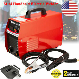 110v Inverter Welder Mini Handheld Arc Welding Machine Tool Mma 20 160a Igbt Us