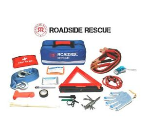 Emergency Roadside Assistance Kit Car Safety Kit 110 Pieces Road Trip Essentials