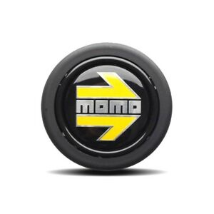 Steering Wheel Horn Button For Momo Omp Sparco With Momo Arrow Logo Emblem 58mm