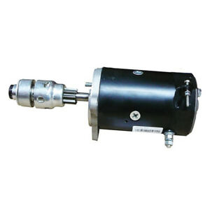 Starter With Drive Replaces C3nf11002dr For Early Ford Jubilee Naa 600 Series