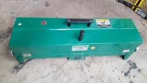 Greenlee 849 Pvc Heater Used 120v 1 2 2 Inch Electric Conduit
