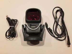 Symbol Ls9208 sr10007nsww Barcode Scanner W Cradle And Cable Tested