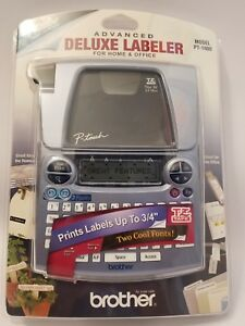 Brother P touch Advanced Deluxe Labeler Model Pt 1880 Label Maker Nib