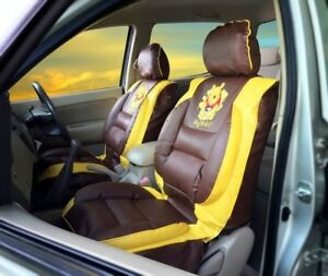 Winnie The Pooh Car Seat Covers Premium Limited Edition Faux Leather Pair