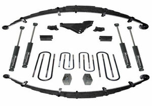 Super Lift 4 Inch Lift Kit 2000 2004 Ford F 250 f 350 Sd 4wd Diesel
