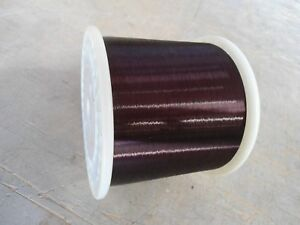 Awg 42 Plain Enamel Copper Magnet Wire Weight 5 22lbs