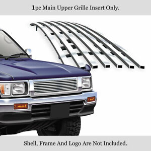 Fits 1992 1995 Toyota Pickup Truck 4wd Stainless Steel Billet Grille Insert