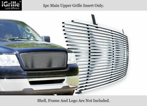Fits 2004 2008 Ford F 150 Stainless Steel Billet Grille Insert