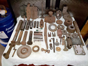 Fuller Johnson Antique Hit Miss Engine Parts Lot
