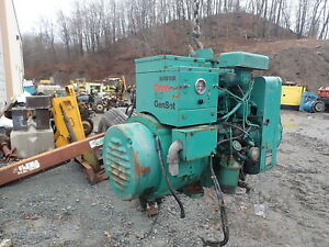 Onan 6 0 Djb Diesel Generator Genset 120 240 1 Ph Nice Rv Low Hrs Cummins