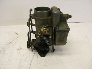 Studebaker Carter Carburetor W O 444s For 1939 40 Champion 2g