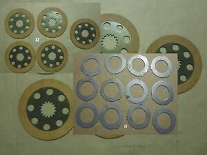 Jcb 3cx Parts Brake Plates Friction Plats A For Project 9 12