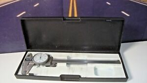 Dial Fractional Caliper 6 Inch Matco Hardened Stainless Steel Shock Proof M1