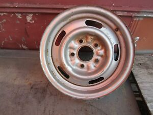 1968 Chevy 1 14 X 6 Rally Wheel Xf Code K1 8 5