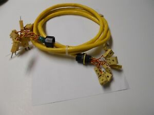 Omega Thermocouple Extension Cable With Type K Miniature Connectors