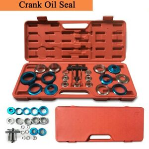 20pcs Car Camshaft Crank Oil Seal Remover And Installer Kit Crank Bearing Cam