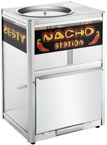 Great Northern Warming Tray Nacho Station Tempered Glass Stainless Steel New