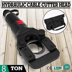 8 Ton Hydraulic Wire Cable Cutter Head For Aluminum And Copper 13 4inch