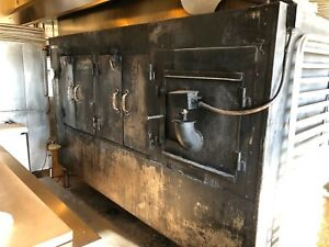 El Jefe Commercial Bbq Smoker From Famous Smoke Restaurant Dallas
