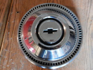 1967 Chevy Bowtie Dog Dish Hubcap Poverty