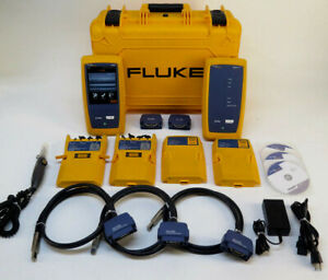Fluke Networks Versiv Dsx 5000 Cat6 Cat6a Lan Cable Certifier Tester W Modules
