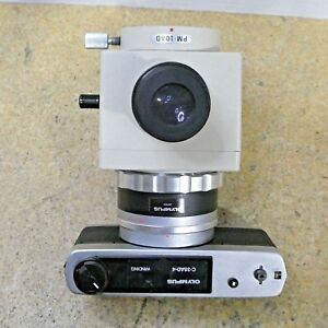 Olympus C 35ad 4 Camera Adapter Pm 10ad Photomicrograpic Microscope Attachment