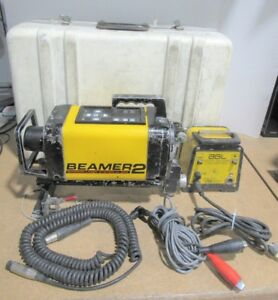 Agl Beamer 2 Interior Laser System Laser Level W Carrying Case Parts Or Repair