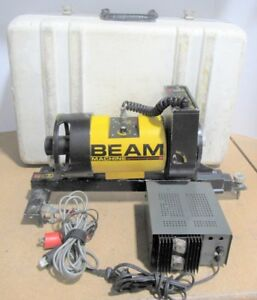 Agl 1182s Beam Machine Laser Level W Case Power Supply For Parts Or Repair