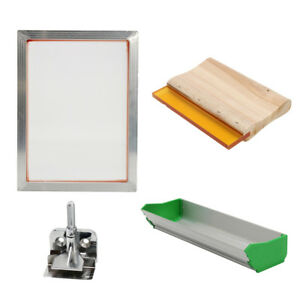 Silk Screen Printing Machine Press Supplies Kit For T shirt Diy Printer