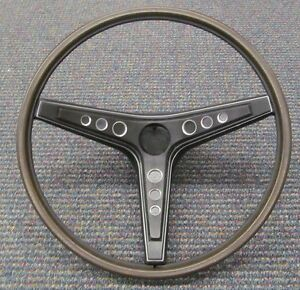 1969 Mustang Mach 1 Boss 302 New Deluxe Rim Blow Steering Wheel