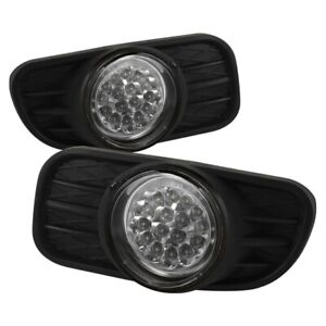Spyder Auto Jeep Grand Cherokee 99 04 Led Fog Lights Clear 5015693