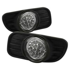 Spyder Auto For Jeep Grand Cherokee 99 04 Led Fog Lights Clear 5015693