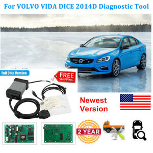 For Volvo Vida Dice 2014d Obd2 Full Chip Code Reader Auto Diagnostic Scan Tool