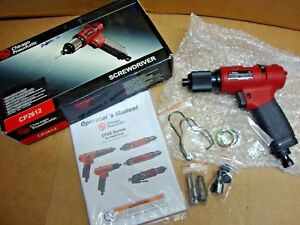 New Chicago Pneumatic Cp2612 Pistol Grip Air Screwdriver